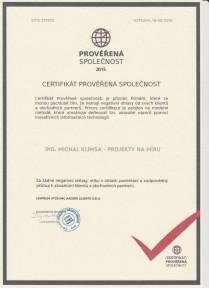 Živnostenské Oprávnění - Ing. Michal Klimša